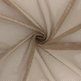Tissu filet - noir x 10cm