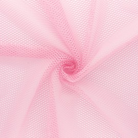 Mesh fabric - light pink x 10cm