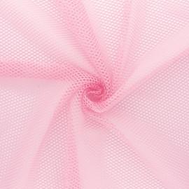 Tissu filet - rose x 10cm