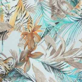 Polycotton fabric extra wide (280cm) - Natural Gavidia x 45 cm