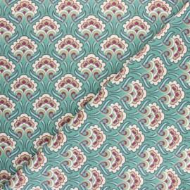 Tissu coton cretonne Sybil - Tomette x 10cm