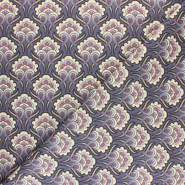 Cretonne cotton fabric - Green Sybil x 10cm