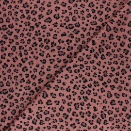 Tissu Mind the Maker twill viscose Minileo - marine x 10 cm