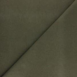 Toile de coton lavée Mind The Maker Erin - vert kaki x 10cm