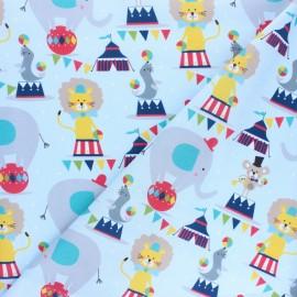 Tissu coton Blend fabrics Picadilly Circus - bleu x 10cm