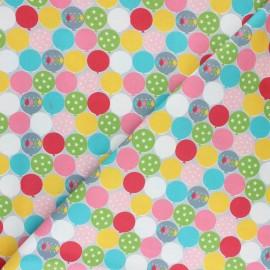 Tissu coton Blend fabrics Picadilly Ballon - bleu x 10cm