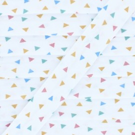 20 mm Polycotton Bias Binding - A Triangle x 1m