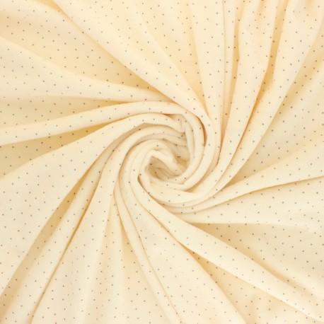 Nicky Fleece fabric Doto - raw x 10cm