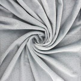 Tissu Doudou Ultra Doux Doto - gris x 10cm