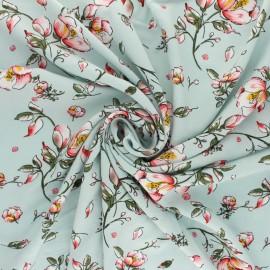 viscose Fabric - blue Mina x 10cm