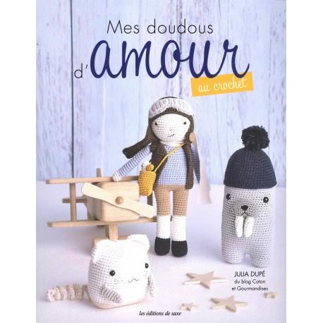 """Book """"Mes doudous d'amour au crochet"""""""