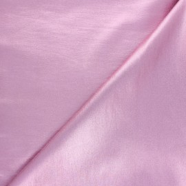 Lurex Coated Bengaline fabric - sparkling pink x 10cm