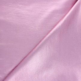 Metallic Coated Bengaline fabric - sparkling pink x 10cm