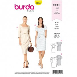 Dress Sewing Pattern - Burda Style n°6239