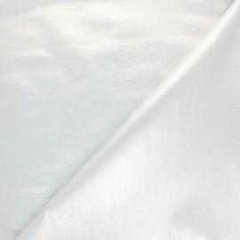 Tissu Bengaline enduit lurex Glow - noir brillant x 10cm