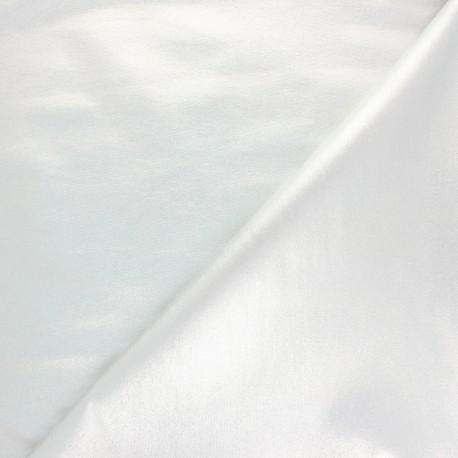 Lurex Coated Bengaline fabric - sparkling black x 10cm