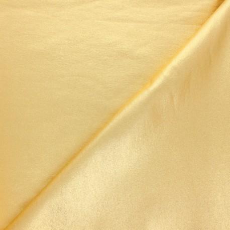 Tissu Bengaline enduit lurex Glow - argent x 10cm