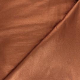 Tissu Bengaline enduit lurex Glow - doré étincelant x 10cm