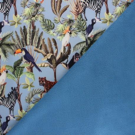 Tissu Softshell Caraïbes - multicolore x 10cm