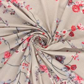Tissu Jersey Viscose Odori - marine x 10 cm