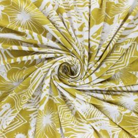 Viscose Jersey Fabric - Navy blue Odori x 10 cm