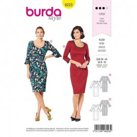 Dress Sewing Pattern - Burda Style n°6223