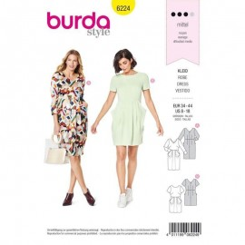 Dress Sewing Pattern - Burda Style n°6224
