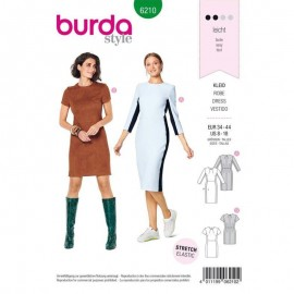 Patron Robe fourreau Burda n°6210