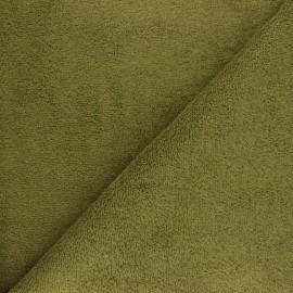Thalasso towel fabric - moss x 10cm