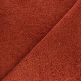 Tissu éponge Thalasso - vert kaki x 10cm