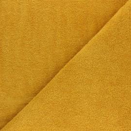 Tissu éponge Thalasso - Terracotta x 10cm