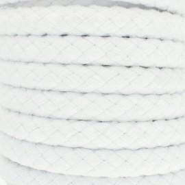 Corde tressée 15 mm Thick  - Blanc x 1m
