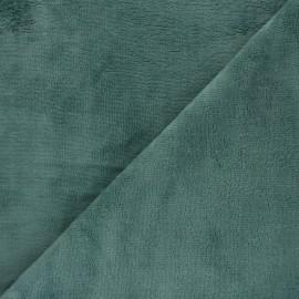 Tissu Micro-éponge Bambou - eucalyptus x 10cm