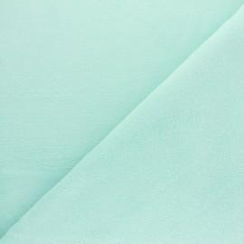 Tissu Micro-éponge Bambou - vert opaline x 10cm