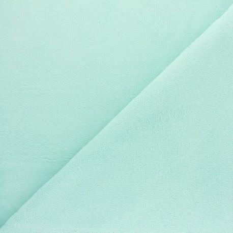 Tissu Micro-éponge Bambou - bleu ciel x 10cm