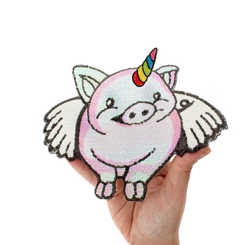 Cochon Visage Design brodé sur Coton Serviettes De Bain Avec Personnalisé Nom