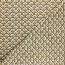 Tissu coton jersey Pandipanda - gris x 10cm