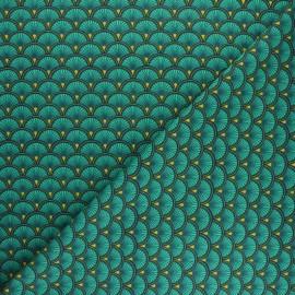 Tissu coton jersey Doucet - écru x 10cm