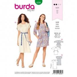 Patron Robe tunique Burda n°6206