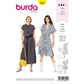 Dress Sewing Pattern - Burda Style n°6240