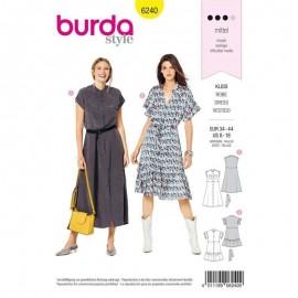 Patron Robe chemise Burda n°6240