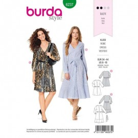 Patron Robe casual Burda n°6237