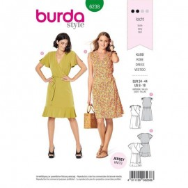 Dress Sewing Pattern - Burda Style n°6238