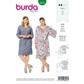Patron Robe chemise Burda n°6216