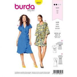 Dress Sewing Pattern - Burda Style n°6207