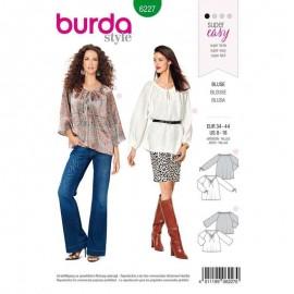 Patron blouse bohème –  Burda N°6227