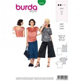 T-shirt fluide –  Burda N°6225