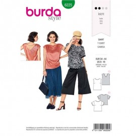 Sewing pattern Top  Burda N°6225