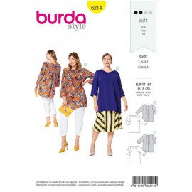 Sewing pattern Top  Burda N°6214