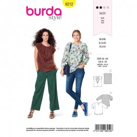 Sewing pattern Top  Burda N°6212